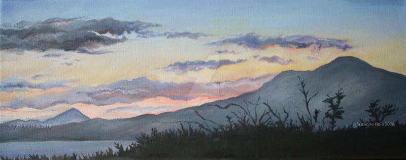 Mweelrea Sunrise 2018 by SuzanneHole