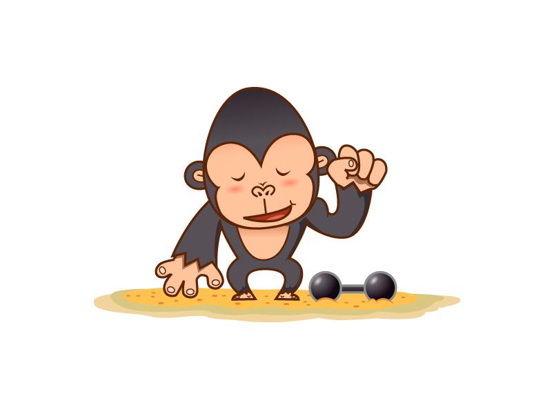 Gorilla by jongart