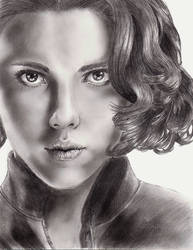 Natasha Romanova by mydeadflowers