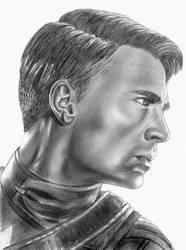 Steve Rogers Profile by mydeadflowers