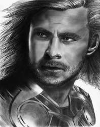 Thor by mydeadflowers