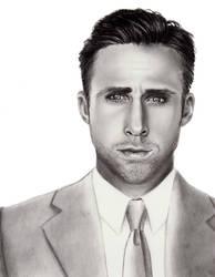 Ryan Gosling by mydeadflowers