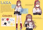[+Speedpaint] Lara Reference Sheet