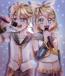 [Speedpaint - CSP] Happy 13th Birthday Rin and Len