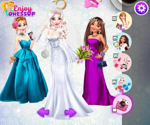 Anna, Elsa and Moana by Nessirea