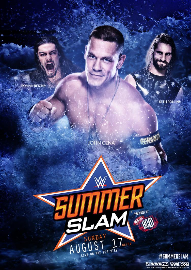 WWE Summerslam 2014 Poster by JamiroKnight