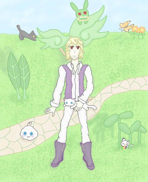 Gaia Online: Easter 2k15 Contest by bloodplus-fan-1