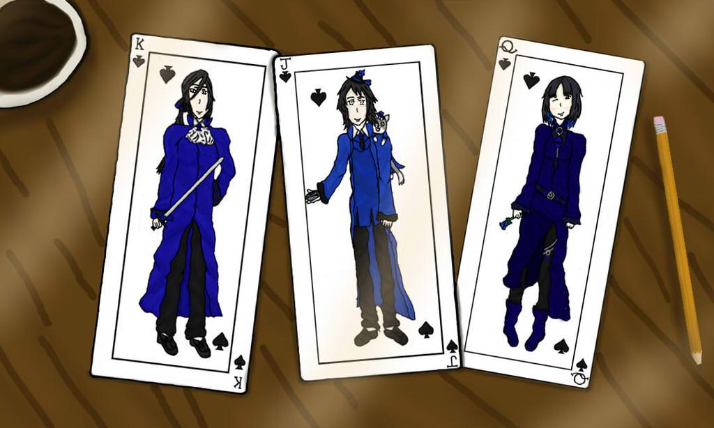 Gaia Online: Spade Family by bloodplus-fan-1