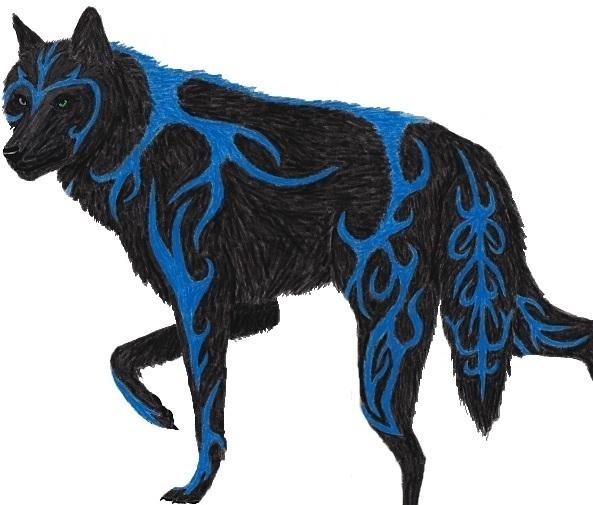 Eztli-Wolf form by ippiki-ryuu