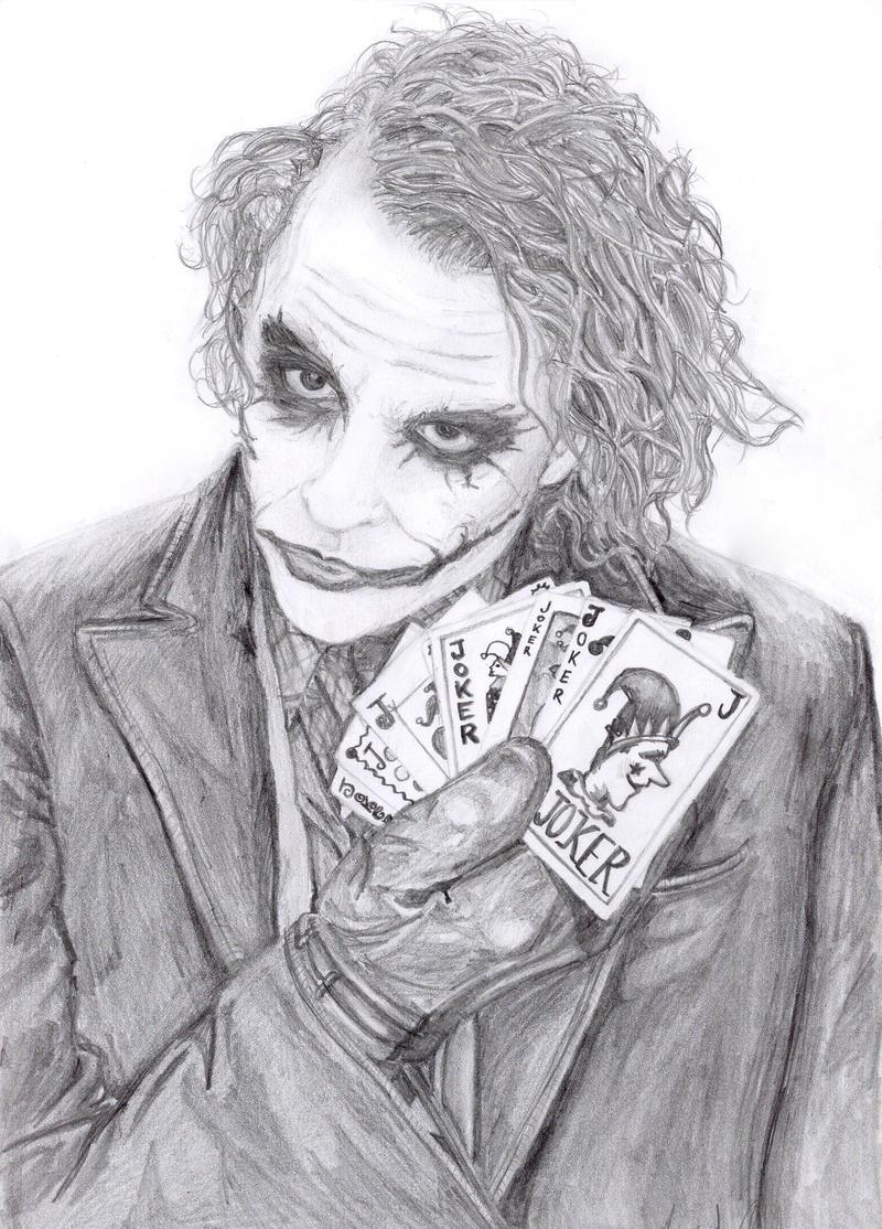 The Joker Man Dude By Lovindah