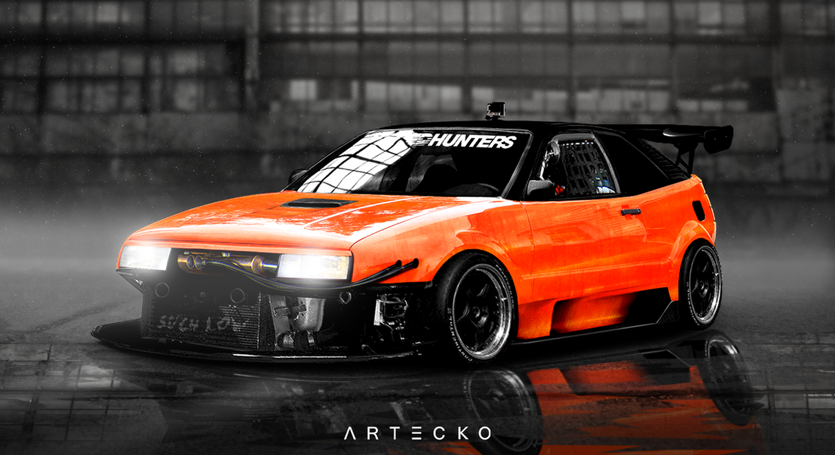 Artecko Virtual Tuning Volkswagen Corrado By