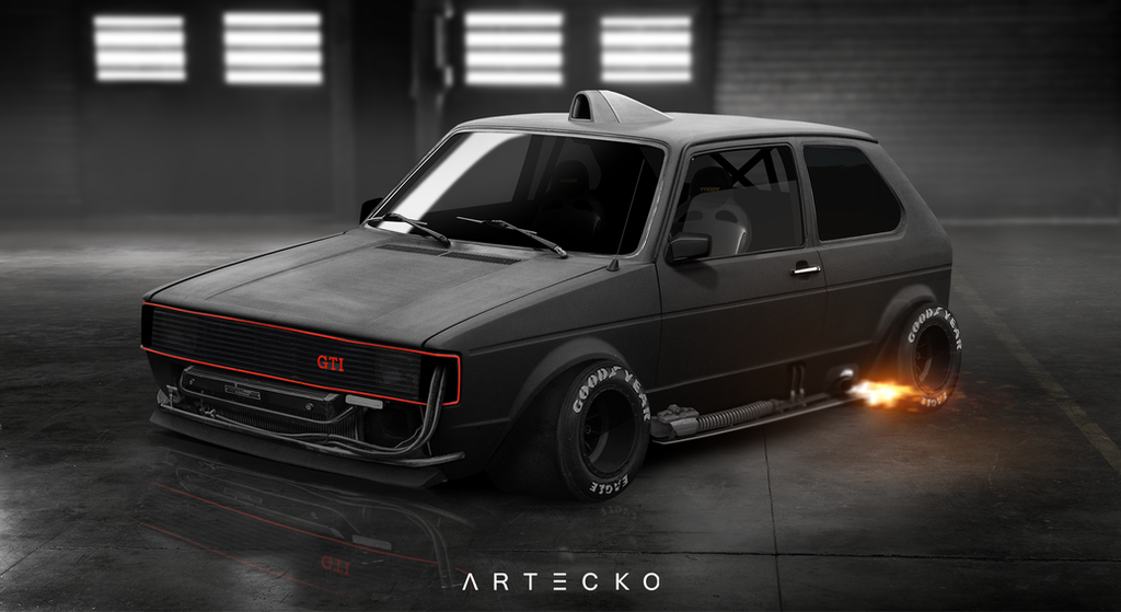 artecko virtual tuning volkswagen golf 1 by theartecko on deviantart. Black Bedroom Furniture Sets. Home Design Ideas
