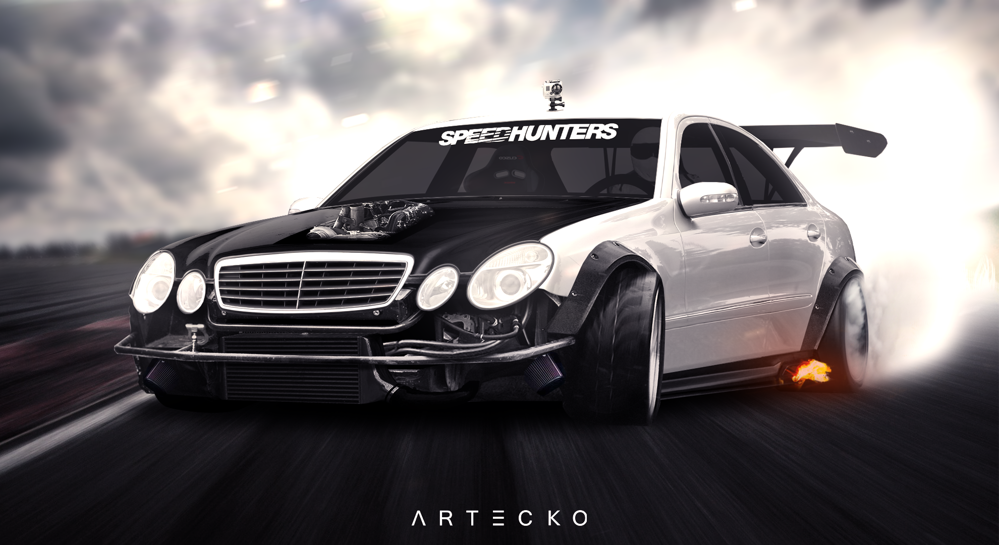 artecko virtual tuning mercedes e270 by theartecko on deviantart. Black Bedroom Furniture Sets. Home Design Ideas