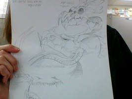 Dragon Sketch Dump - April 27, 2017
