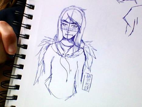 Annoyed Pandora - Roleplay Art