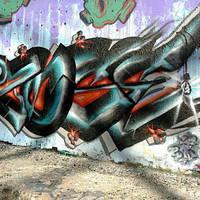 ZOSER - Graffiti In Downtown Dallas