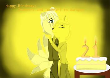 Happy Birthday InuHoshi - Yellow