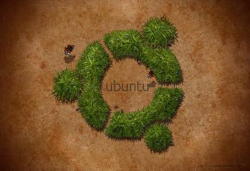 Ubuntu-Wallpaper by Chrisdesign