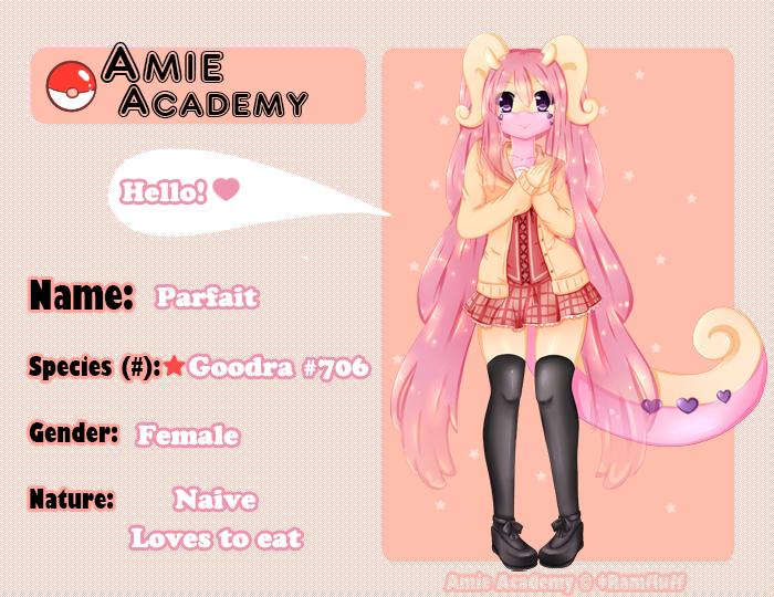 Amie Academy - Parfait by Priincessu