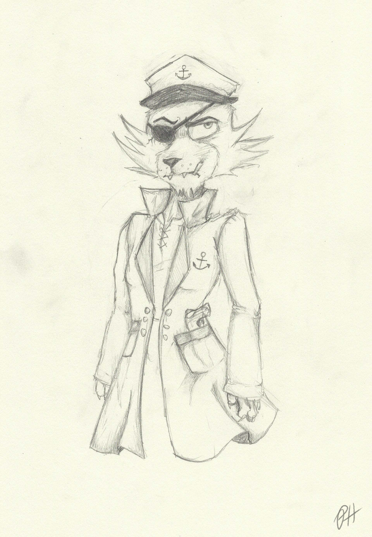 Capt'n Foxy by Gothcookie123