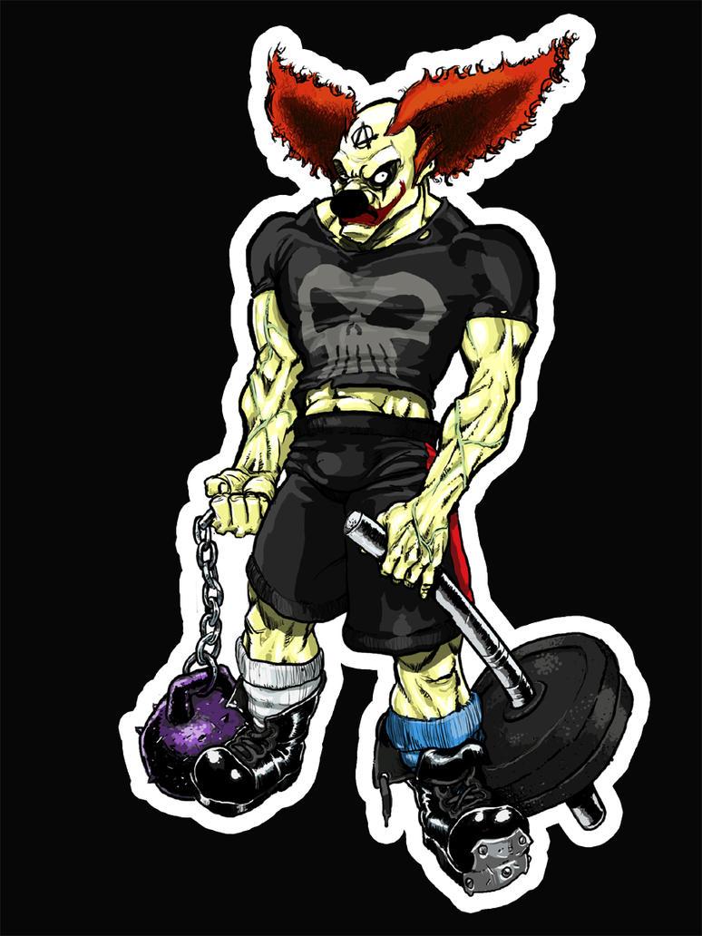CrossFit Clown By Fragworks