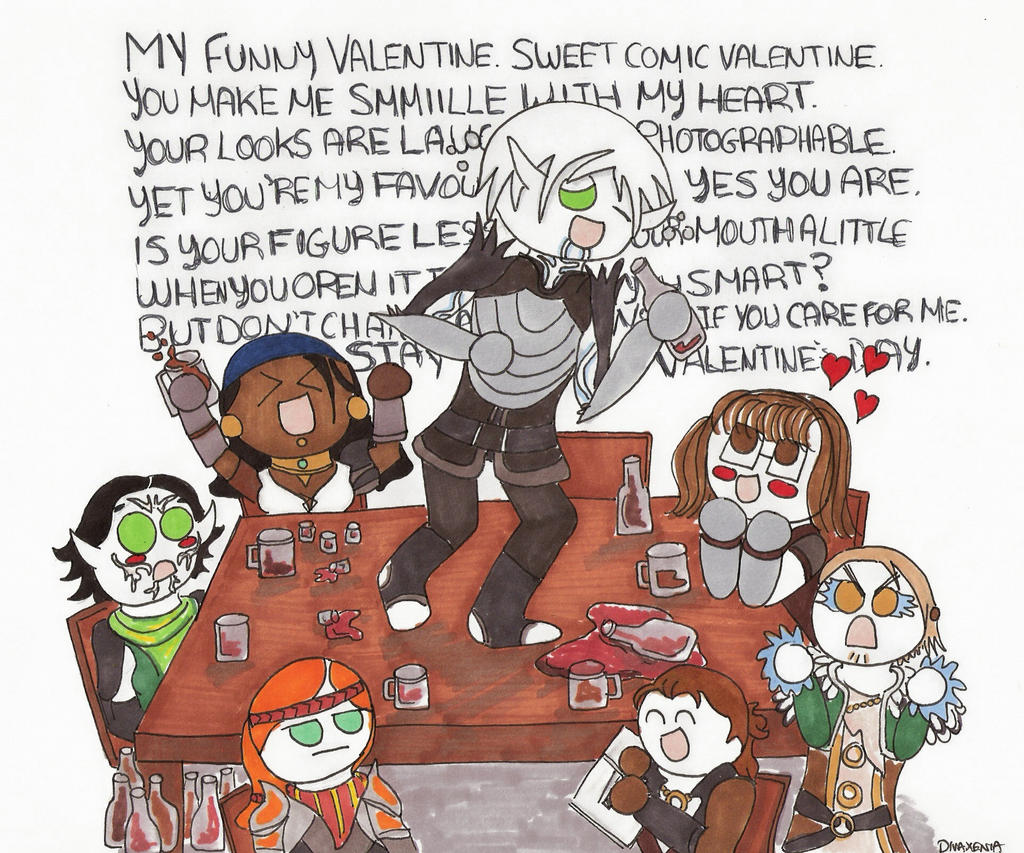 Dragon age 2 my funny valentine request by divaxenia on deviantart dragon age 2 my funny valentine request by divaxenia voltagebd Choice Image