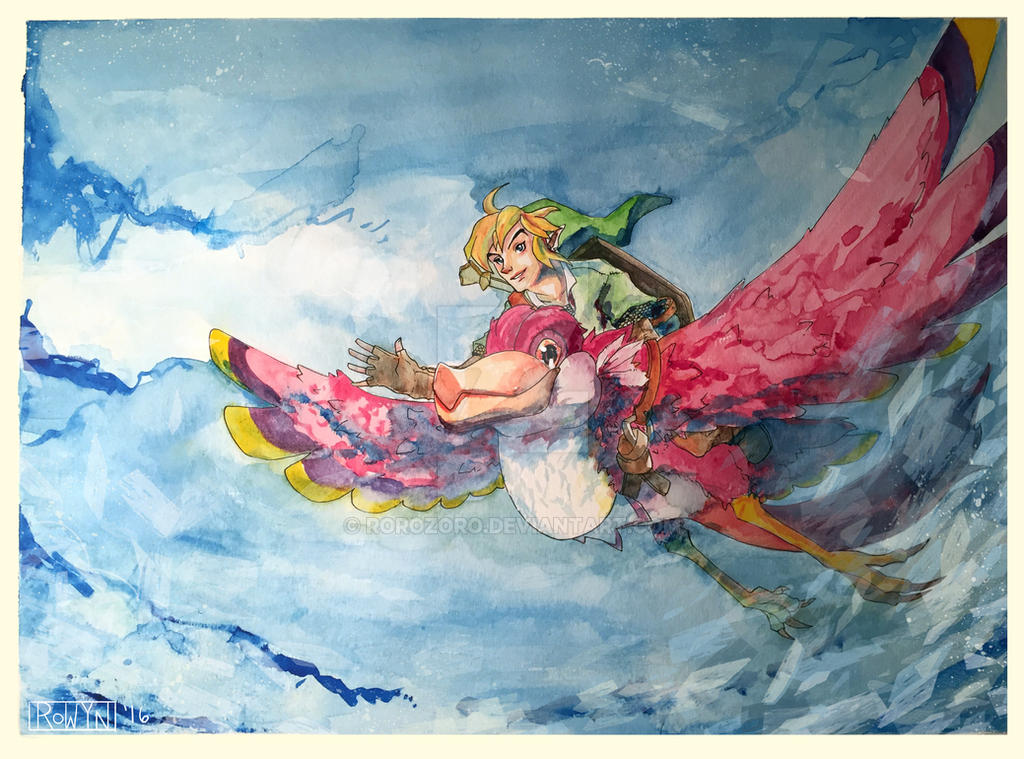 LoZ: Skyward Sword by RoroZoro