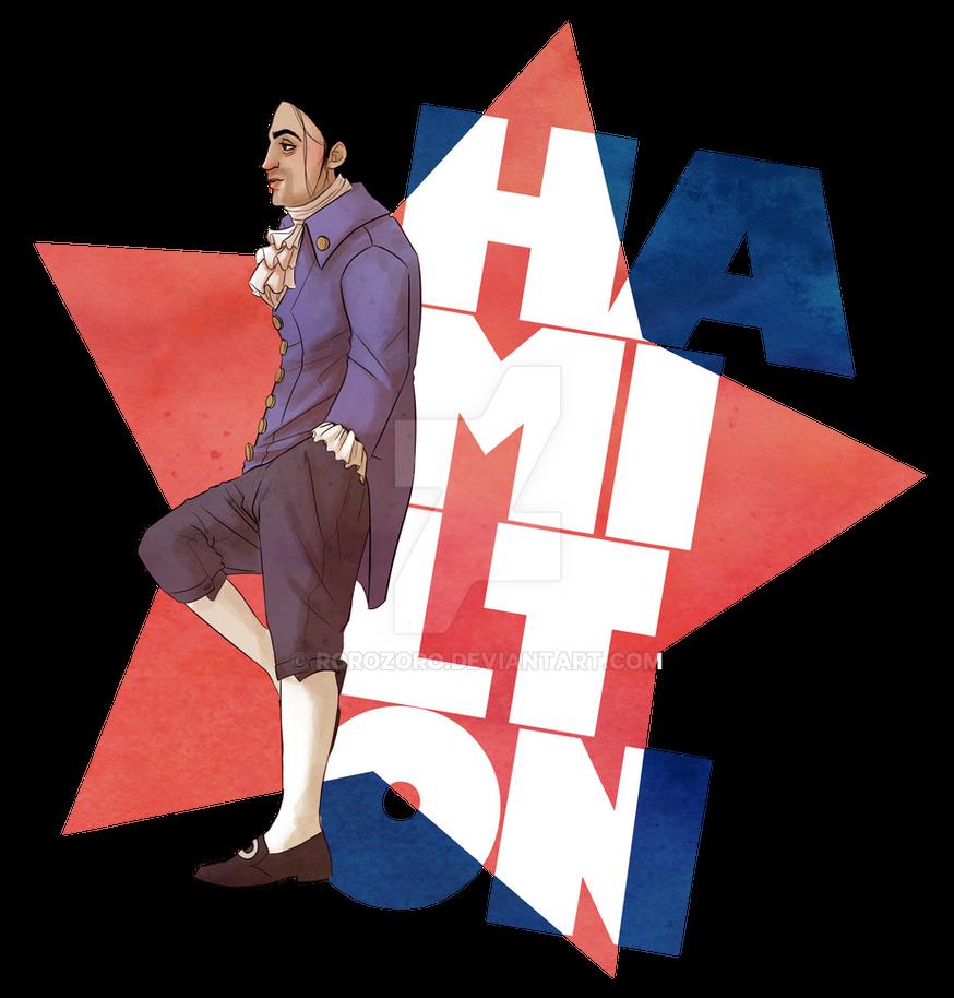 Hamilton by RoroZoro