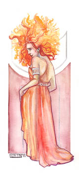 AG: Hestia || Watercolor