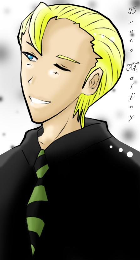 Draco Malfoy - anime style by RoroZoro on DeviantArt