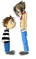 The Rev and Johnny by RoroZoro