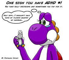 18 Signs you have ADHD #1 by Ishimaru-Chiaki