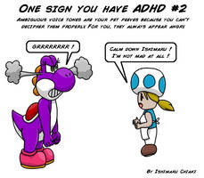 18 Signs you have ADHD #2 by Ishimaru-Chiaki