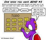 18 Signs you have ADHD #3