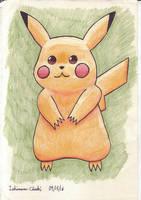 025 - Pikachu by Ishimaru-Chiaki