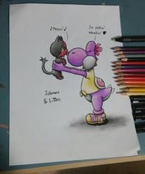 [pencils] I Choose You Litten by Ishimaru-Chiaki
