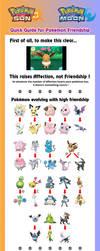 Quick Guide to Pokemon Friendship in SuMo by Ishimaru-Chiaki