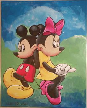 [Acrylic] Mickey X Minnie