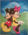 [Acrylic] Mickey X Minnie by Ishimaru-Chiaki