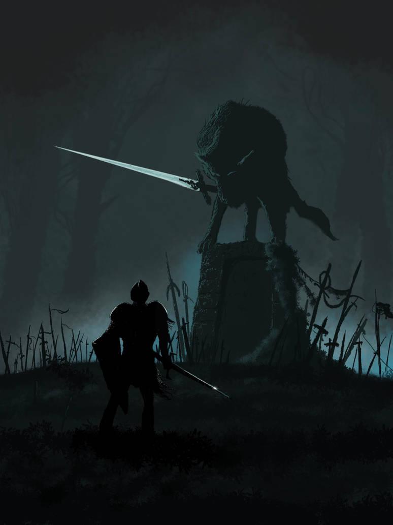 Great Grey Wolf Sif (Dark Souls)