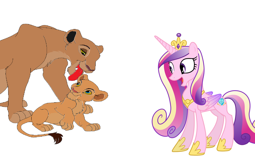 Princess Cadence is going to babysit Cub Nala by ...