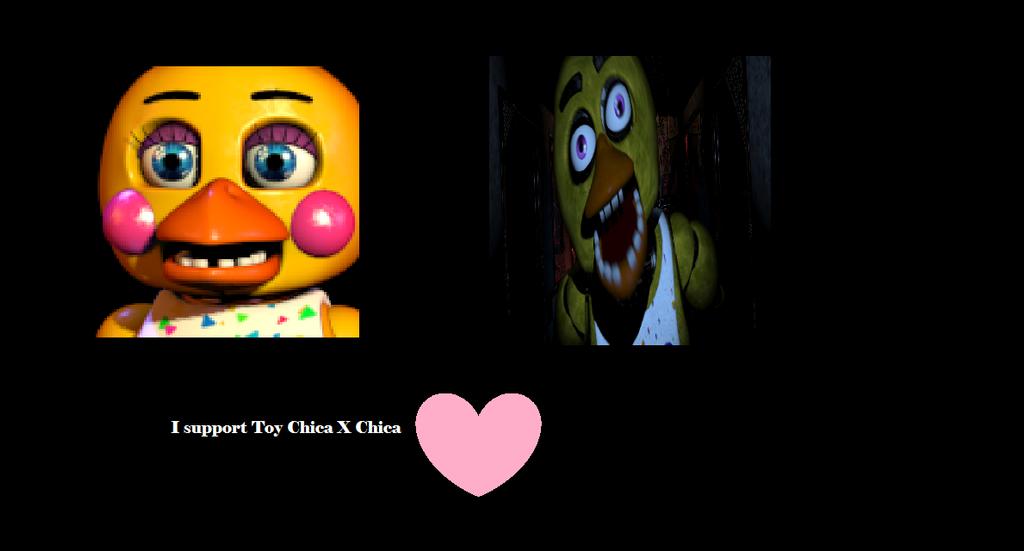 Toy chica x chica support by fancysallyacorn on deviantart