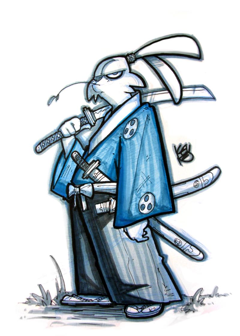 Usagi Yojimbo by TheGreyNinja