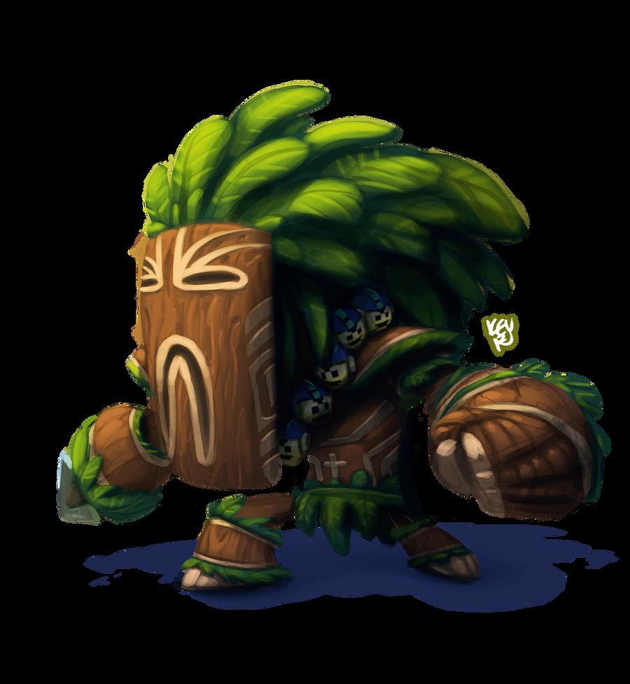 tribal man by TheGreyNinja