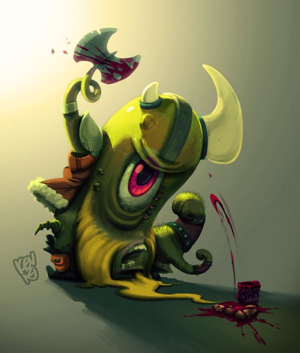 Parasite Viking by TheGreyNinja