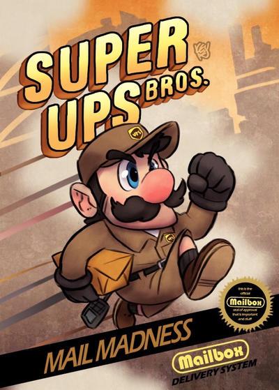 Super UPS Bros by TheGreyNinja