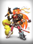 capcom fighting tribute girl