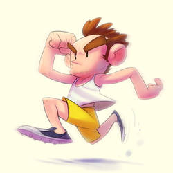 runner by TheGreyNinja