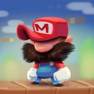 It's-a-meeeeee!!!