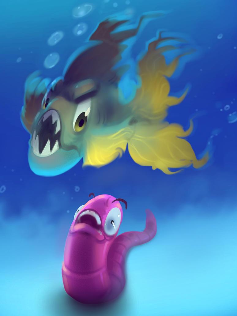 Fish Food Collab by TheGreyNinja